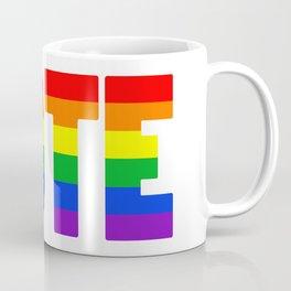 Rainbow VOTE Coffee Mug