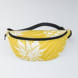 Bright Yellow, Summer, Pineapple Art Fanny Pack
