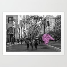 Unseen Monsters of San Francisco - Toof McShizzy Art Print