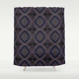 grayish Shower Curtain