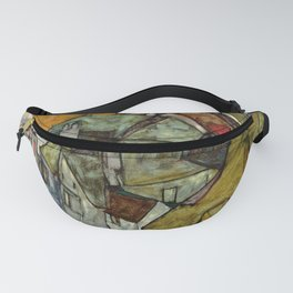 "Egon Schiele ""Crescent of Houses II (Island Town)"" Fanny Pack"