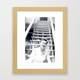 At the bottom Framed Art Print
