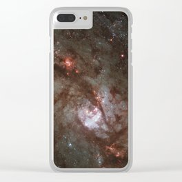 The Southern Pinwheel Clear iPhone Case