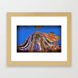 Ease the Ire Framed Art Print