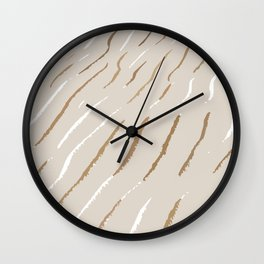 Modern pattern Wall Clock