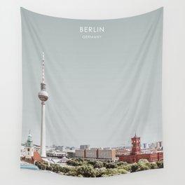 Berlin, Germany Travel Artwork Wall Tapestry