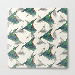 Kingfishers Metal Print