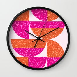 Abstract Marks Wall Clock