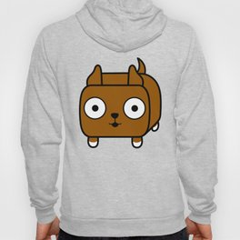 Pitbull Loaf - Red Brown Pit Bull with Cropped Ears Hoody