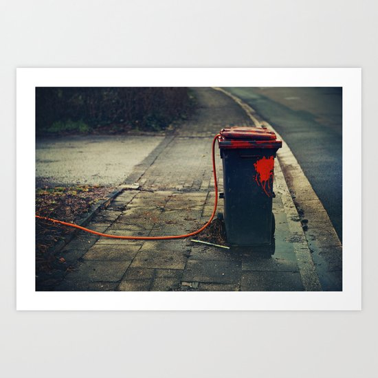 trash  Art Print