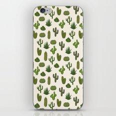 Cacti parade iPhone & iPod Skin