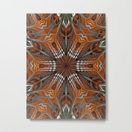 Ammarra Abstract Metal Print