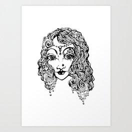 Recital- Her untouchable bloom Art Print