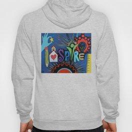 INSPIRE - Educational school teacher painting Hoody