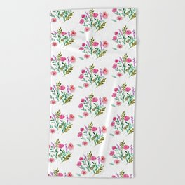 Country Bouquet Beach Towel