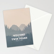 Welcome to Twin Peaks v2 Stationery Cards
