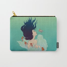 Underwater Lady Carry-All Pouch