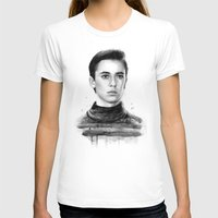 wesley bird T-shirts featuring Wesley by Olechka