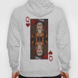 Frida Kahlo, reina de corazones II Hoody