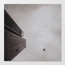 Urban Plane Canvas Print