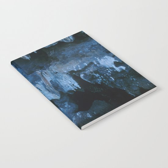 NATURE'S WONDER #3 - BLUE GROTTO #art #society6 Notebook