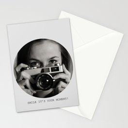 Smile it's your moment! Stationery Cards