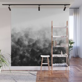 Ombre Smoke Clouds Minimal Wall Mural