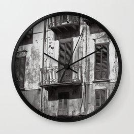 MYSTIC MARSALA SOUND Wall Clock