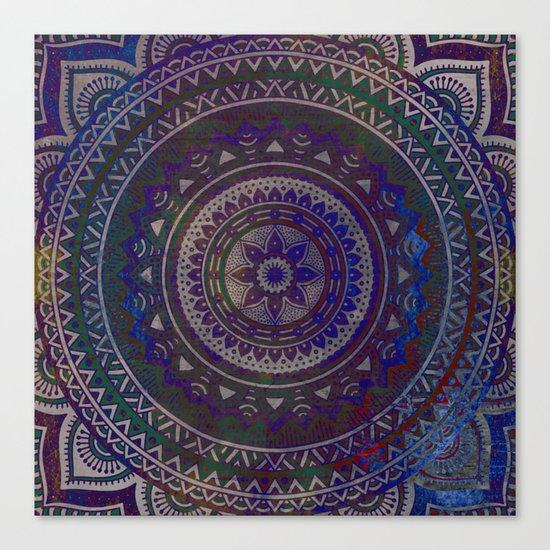 Spiritual Mandala Canvas Print