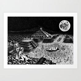 Meso-Mania Art Print
