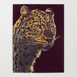 THE LEOPARD 001 - The Dark Animal Series Poster