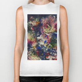 Painted Bouquet Biker Tank