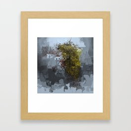 Cracked Delusions Framed Art Print
