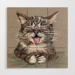 Cat *Lil Bub* Wood Wall Art
