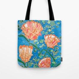 Four Orange Proteas Tote Bag