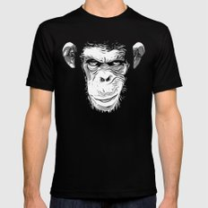 Evil Monkey LARGE Mens Fitted Tee Black