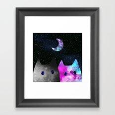 cat-64 Framed Art Print