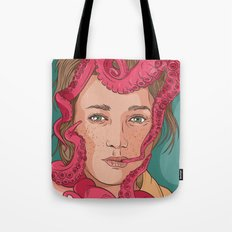 Tentacle illustration Tote Bag