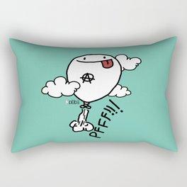 PFFF! Rectangular Pillow