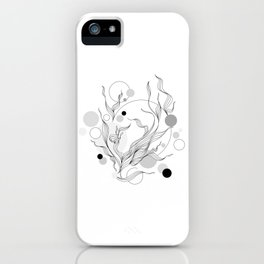 Digital Gray Vector of the Thrive Hopes! iPhone Case