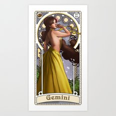 Zodiac Art Show - Gemini Art Print