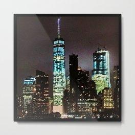 NYC @ NITE Metal Print