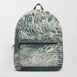 Mandala Ocean Waves Backpack