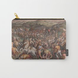Classic Art The battle of Marciano in Val di Chiana By Giorgio Vasari Carry-All Pouch