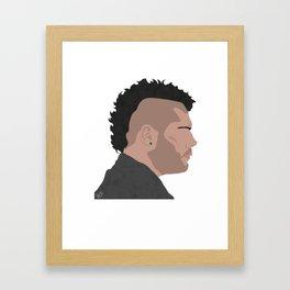 genny Framed Art Print