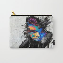 Facial Expression Carry-All Pouch