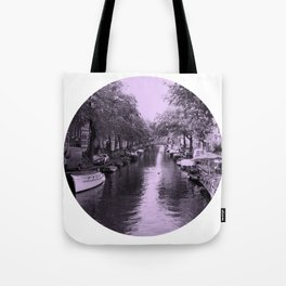 Amsterdam Canal #2 Tote Bag