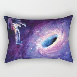Galatic Hole Rectangular Pillow