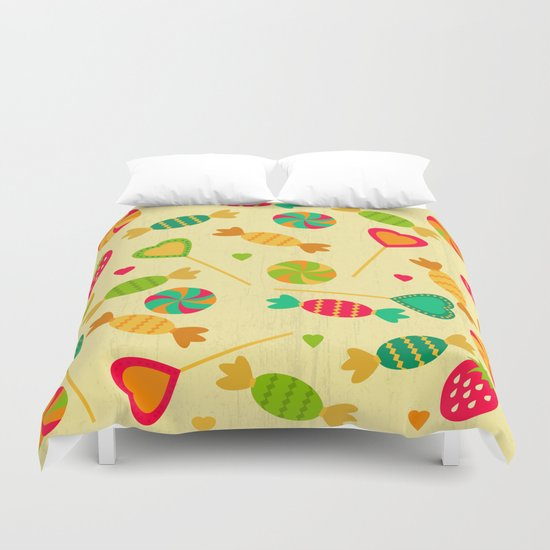 Candy shop Duvet Cover