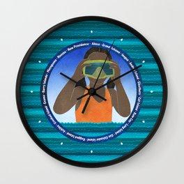Island Girl Wall Clock